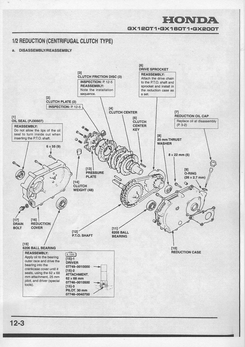 Reduction on honda electric start wiring diagram