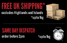 FREE UK Shipping - Same Day Dispatch